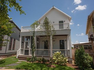 3 Bedroom, 2 Bath two-story cottage with  wrap around porches on both levels