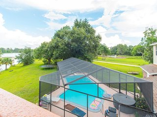 Lakefront Duplex w/ Boat, pool, & hot tub