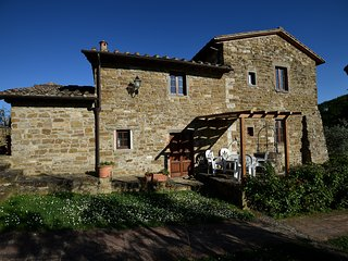 La Tinaia apt. at La Vecchia Greve with Shared Pool and Free Wifi