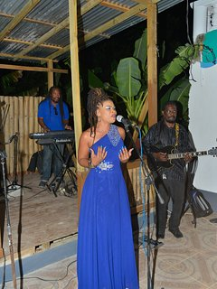 Crystal and the band, performing for the reception I can arrange a live Reggae band for any occasion