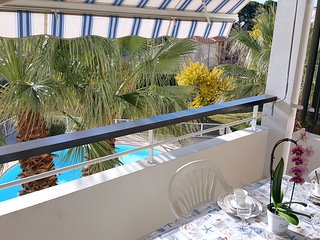 Bord de mer, piscine, parking, 4 pers., St-Raphaël
