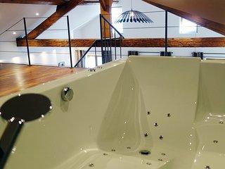 Magnifique duplex 65 m2 avec jacuzzi 2places dans la chambre . ★★★★★