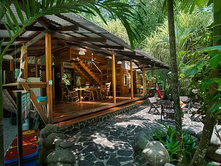 The Big Dream House of Congo Bongo Ecolodges Costa Rica.