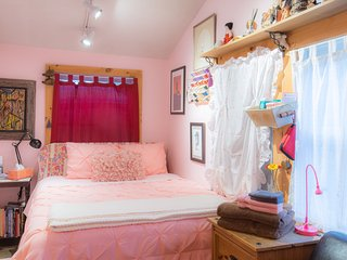 Jamaica Plain's  PINK ROOM, Boston