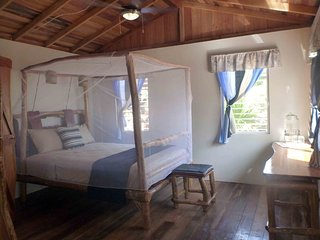 Bushstick Bungalow on the Beach at Leaning Palm Resort