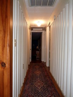 Down the Hall, Two Bedrooms on the Right, the Bathroom Left, and the Master Bedroom at the End