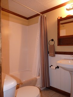 With Full-Size Tub and Shower