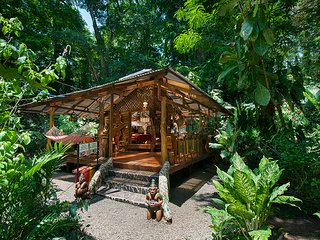 The Dream Nature House of Congo Bongo Ecolodges Costa Rica.