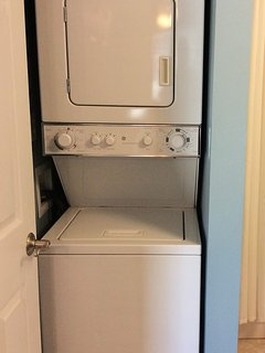 Washer/dryer for your convenience!