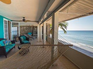 3 Bedroom Oceanfront Rincon Villa - Villa 1 Lower at Sunset Paradise Villas