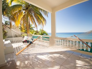 Beautiful One Bedroom Oceanfront 'Honeymoon Suite' 1 Villa 1 Upper at SPV