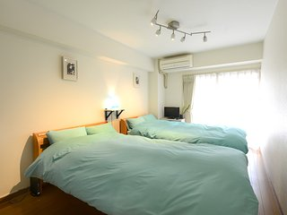 Nakano 1BR TWIN Apartment Type-A1 (NFC1BRT-A1) 1F
