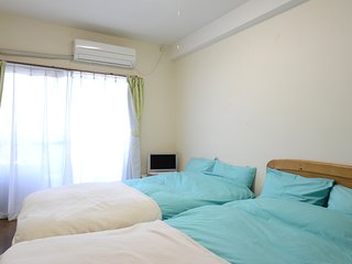 Nakano 1BR TWIN Apartment Type-A2 (NFC1BRT-A2) 2F