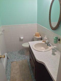 Half Bath off Master Bedroom