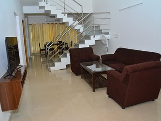 3 BEDROOM SERVICE APARTMENT In Ruby Residency By A2z, Canacona