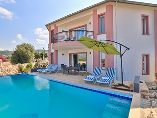 Villa Dilara 4 BR with private pool, in Nature, Kas