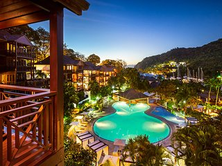Marigot Bay Resort - One Bedroom Bay View Suite