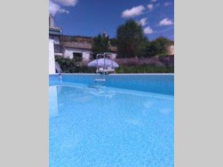 Relax, diversion, disfrutarjardin piscina barbacoa 1hMAD