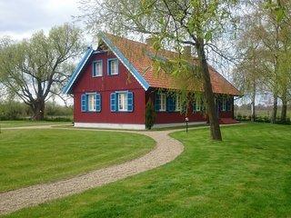 House in Minija village, Minge