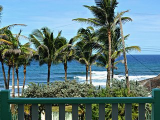 Brees Cottage Lower 2 bedroom right at Barbados' Famous surf break!
