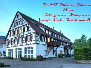 VIP Ferienwohnung 75 qm Nähe Outlet Metzingen