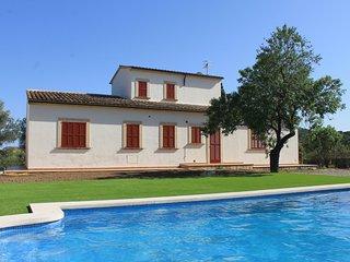 Casa acogedora con piscina, wifi y vista mar, Son Servera