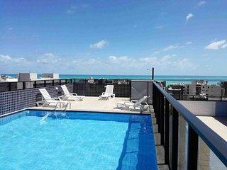 Apartamento Ótima localização, completo e novo a 250 metros do Mar!