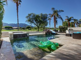 PGA West, Golf Course, Waterslide Pool Home, Game Room, on the Course, Upgraded
