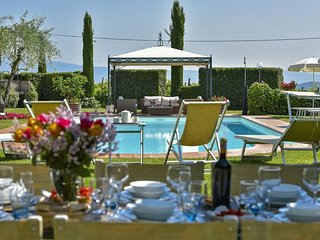 Villa Capannole Tontenano Chianti private pool 12 people