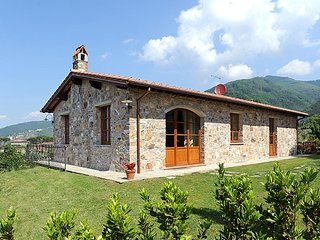 This stunning villa is located on the outskirts of Lucca and has a breathtaking