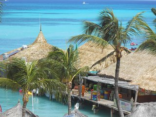 Aruba's Playa Linda Beach Resort... steps away from Palm Beach