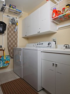 Your own Washer/ Dryer and detergents included.