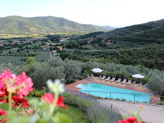 Villa Margarita, Garden Apartment with lovely Pool, Castiglion Fiorentino