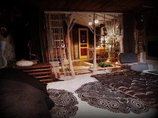 Chambre romantique avec sauna