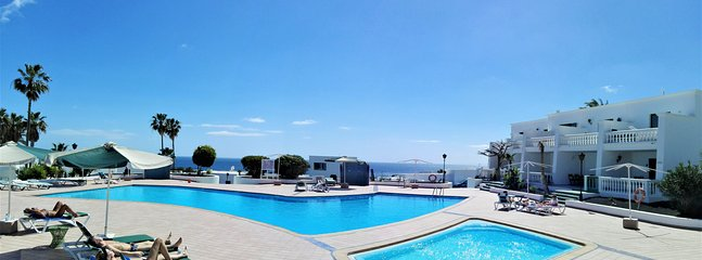 Swimming pools for adults and kids with ocean view - adults and children pool with sea views