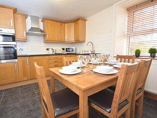 Modern kitchen, double oven, granite worktops