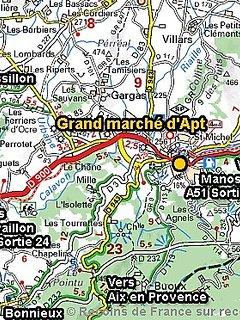 Tout les samedis matin, un vrai marché de Provence!