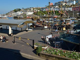 Overlooking Brixham Harbour