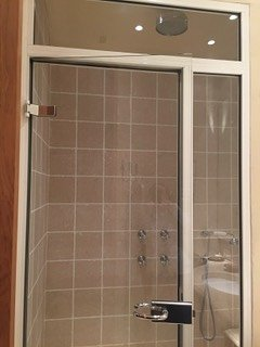 guest shower and steam room