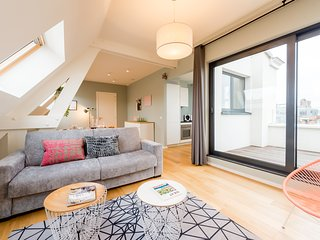 Smartflats Antwerp Central 602 - 2 Bedrooms Duplex Terrace - Meir area