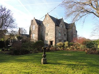 If you have ever fancied staying in an old Manor House  you will love it here, Chepstow