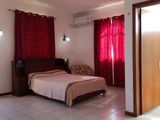Cosy one bedroom air conditioned self catering sea view apartment in Mon Choisy.