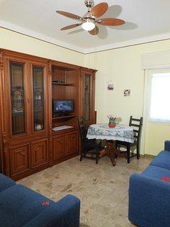 Ca' Stella living room (ceiling fan)