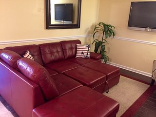 Sofa sectional sleeps 1-2.