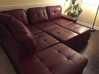 Sofa sectional that sleeps 1-2.