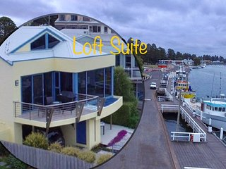 """Loft Suite on the Wharf at RiverView"", Port Fairy"