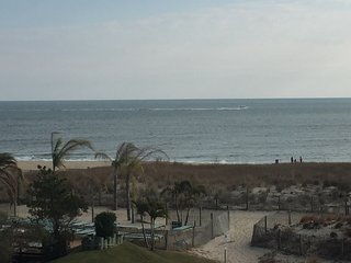 Family friendly mid-town location with pool!  Steps from beach with great view!, Ocean City