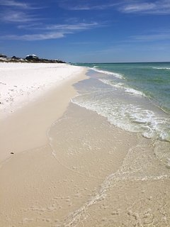 Quiet private beach at Watersound