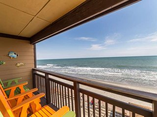 On the third, top, floor of Afterdeck.  This is the view you and your family will enjoy, this isn't a model unit.