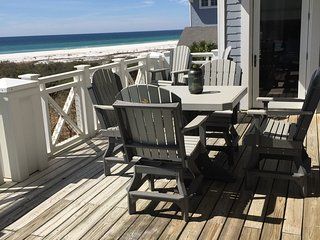 Deck seating for 8